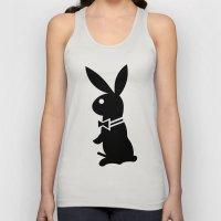 Playboy Horny Rabbit  Unisex Tank Top