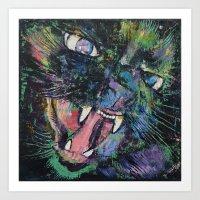 Furious Art Print