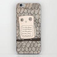 Jeffery The Owl iPhone & iPod Skin