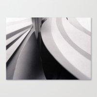 Paper Sculpture #3 Canvas Print