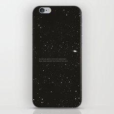 Do not go gentle into that good night.... iPhone & iPod Skin