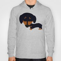Dachshund (black And Tan… Hoody