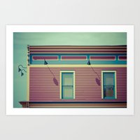 Another  Shop On AB Aven… Art Print
