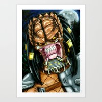 Trophy Hunter Art Print