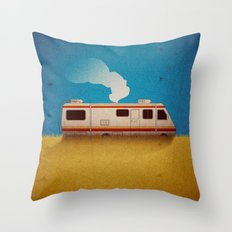 Breaking Bad - 4 Days Out Throw Pillow