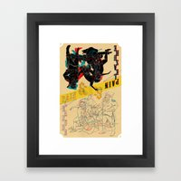 Pleasure And Pain Framed Art Print