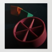 Trivial Pursuit Canvas Print