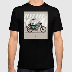 The Mother Road SMALL Mens Fitted Tee Black