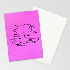 Cat Lines Stationery Cards