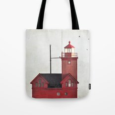 Light to a lost sailor Tote Bag