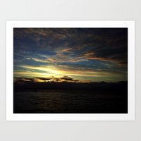 Morning Clouds Art Print