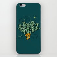 Zombie Cats iPhone & iPod Skin