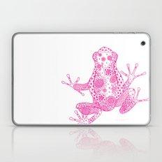 Little Frog Magenta Laptop & iPad Skin