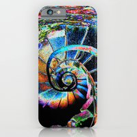 iPhone & iPod Case featuring Stairway to Infinity by Chaos Gate Designs