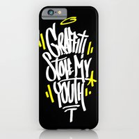 iPhone & iPod Case featuring Graffiti by squadcore