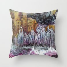 The Pop Is Dead Throw Pillow
