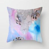 Crystalisis Throw Pillow