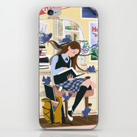 Dressed by Birds iPhone & iPod Skin