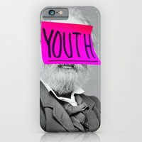 iPhone Cases featuring Elderly Youth by Tyler Spangler