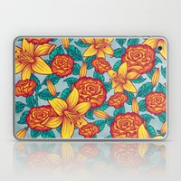Flowers - Red Laptop & iPad Skin