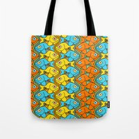 Something is Nicely Fishy Here! Tote Bag