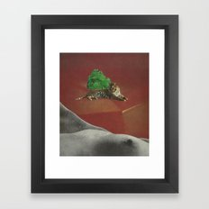 Tiger In The Land Of Dreams Framed Art Print