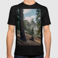 Half Dome Mens Fitted Tee Tri-Black SMALL