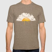Breakfast Mens Fitted Tee Tri-Coffee SMALL
