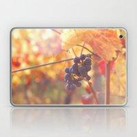 Fall Grapes Laptop & iPad Skin
