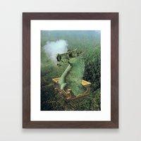 UNTITLED (Checkmate)  Framed Art Print