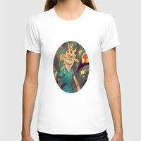 Finn The Human Womens Fitted Tee White SMALL