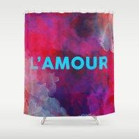 L'amour Shower Curtain