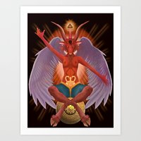 The Baphomet Art Print