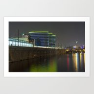 Art Print featuring October Night On The BER… by CAPTAINSILVA