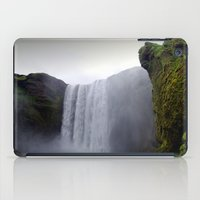 skogafoss waterfall, iceland. iPad Case