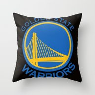 NBA - Warriors Throw Pillow