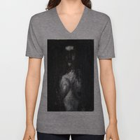 HOT VAMPIRE WITH IMPLANT… Unisex V-Neck