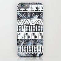 PRIYA Stripe {B&W} iPhone 6 Slim Case