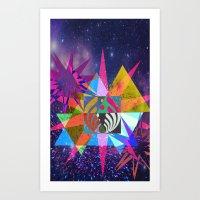 Geospace Art Print