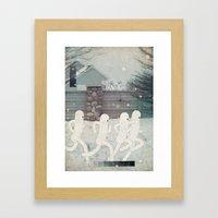 r u n n e r s Framed Art Print