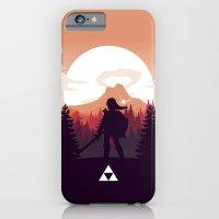 iPhone & iPod Case featuring The Legend of Zelda - Orange Version by Casa del Kables