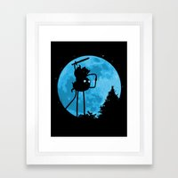 A.T. - With Finn And Jak… Framed Art Print