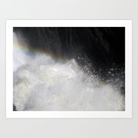Nile River at Murchison Falls Art Print