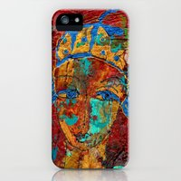 iPhone 5s & iPhone 5 Cases featuring Mon Ami Pierrot by Pearangel Art Studio