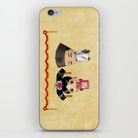 Chinese Chibis iPhone & iPod Skin