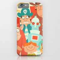 iPhone & iPod Case featuring Storybook Gang by The Drawbridge