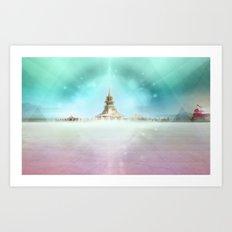 PLAYA III Art Print