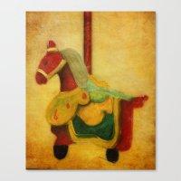 The Woo Woo Carousel Hor… Canvas Print