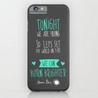 iPhone & iPod Case featuring Tonight. by Juliana Rojas   Puchu