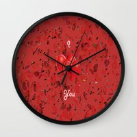 I Love You! Wall Clock